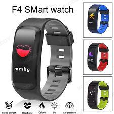 XGODY Blue Smart Watch Blood Pressure Monitor Fitness Tracker Waterproof  PPG