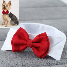 US Fashion Adjustable Bow Tie-Collar Necktie Bowknot Clothes For Pet Dog Cat New