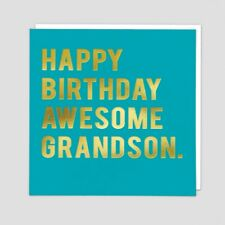 CLOUD 9 NINE GREETING CARD: GRANDSON (CLN101)  - NEW IN CELLO