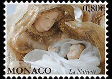 Christmas mnh stamp 2016 Monaco