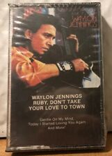 Waylon Jennings Ruby Don't Take Your Love To Town Cassette Tape Brand New Sealed