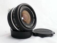 Nikon Nikkor 20 mm f/4 pre-AI lens