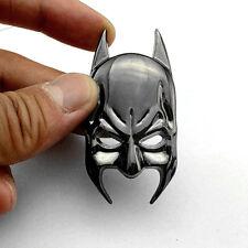 Metal Chrome Batman Mask Logo Badge Car Rear Trunk Tailgate Emblem Decal Sticker