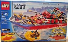 NEW SEALED LEGO 7906 City Fireboat Set w/Super Motor (RARE HARD TO FIND)