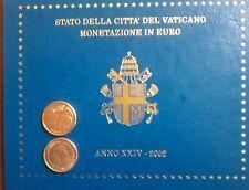 2 CENT DU COFFRET BU VATICAN 2002 (RARE)