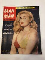 Vintage Man to Man Magazine - April 1952 - Gloria Pall