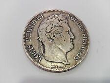 5 Franchi argento Luigi Filippo I - Domard - 1833 - NR 7