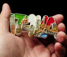 Italy Italia Tourist Travel Souvenir 3D Resin Letters Fridge Magnet Craft Gift