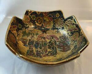 Japanese Satsuma Gilded Enamel Bowl