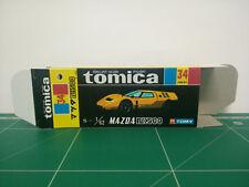 REPRODUCTION BOX for Tomica Black Box No.34 Mazda RX500