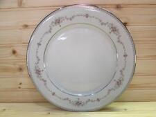 "Fairmont Platinum Trim by Noritake 6102 10-1/2"" Dinner Plate L121"