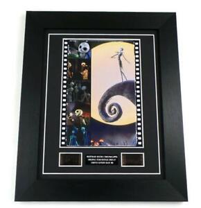NIGHTMARE BEFORE CHRISTMAS Film Cells Movie Memorabilia Framed Gifts TIM BURTON