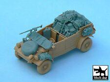 Black Dog 1/48 Kubelwagen Type 82 Afrika Korps Accessories (Tamiya 32503) T48033