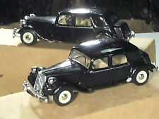 CITROEN TRACTION 15 CV 1952 (grosse malle/ pare choc droit) DINKY MATCHBOX 1988