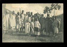 East Africa DJIBOUTI Group of Hunters 1916 PPC fault