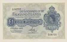 More details for superb p8e falkland islands 1982 one pound banknote in mint condition