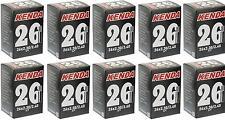 """10x Kenda 26"""" MTB Tube 26x2.3/2.4 S/V A/V Schrader Valve Fat Bike Plus Size"""