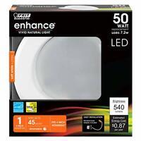 "Feit Electric Enhance LED Retrofit Kit Recessed Light, 4"" 50W (6 Pack)"