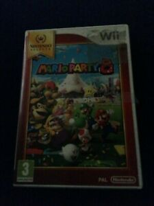 Wii Mario Party 8 Game - Nintendo Mario Brothers Instructions Disc Classic