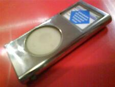 STAINLESS STEEL IPOD NANO 2nd GENERATION 2GB 4GB 8GB CASE WTH CARRY CORD