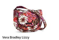 Vera Bradley New Lizzy Handbag/ Crossbody Rosewood . (NWT) MSRP $48.00