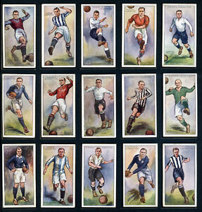 PLAYER'S Cigarette Cards FOOTBALLERS 1928 - Association & Rugby - Select-A-Card