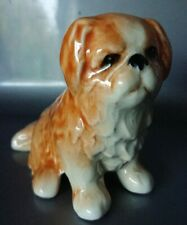 Old Vintage Retro Sylvac Pottery China Dog Peke Pekinese Shih Tzu Lhasa Apso