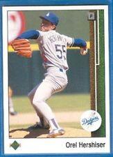 Orel Hershiser, 1989 Upper Deck #130, Dodgers