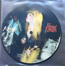"HANOI ROCKS - Malibu Beach / Rebel On The Run 7"" Vinyl Record Picture Disc Rare"