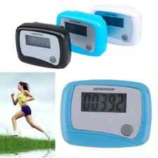 LCD Digital Step Counter Run Walking Weight Watchers Pedometer Distance Gifts N