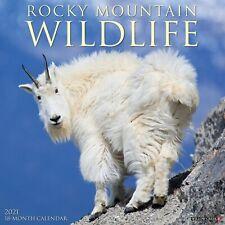 Rocky Mountain Wildlife 2021 Wall Calendar (Free Shipping)