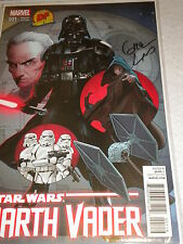 DF Marvel Star Wars Darth Vader Signed by Greg Land 63/500