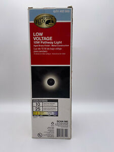 Hampton Bay Low Voltage 20W Flood Light - Aged Brass Finish - Model 1001 492 869