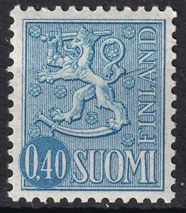 Finland 1967 Arms of Finland 40p ultra, MNH sc#405A