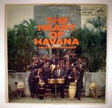 The Heart of Havana - Orquesta Aragon-  RCA LPM 1468 LP Record