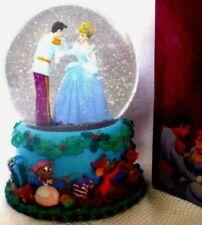 Disney Cinderella Prince Snow Globe 12 Days of Christmas Musical NIB Wedding