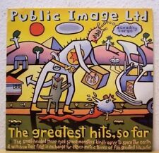 (o) Public Image Ltd PIL - The Greatest Hits, So Far (2-LP) [EX-/VG+/EX+]