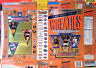 1996 Super Bowl 30th Anniversary foil Cereal Box unused factory Flat shm284