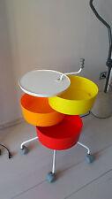 Desserte IKEA Meuble cuisine coiffeur vintage années 70 design