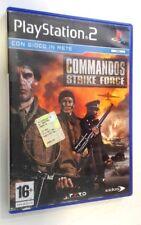 Commandos Strike Force - PS2 - Playstation 2