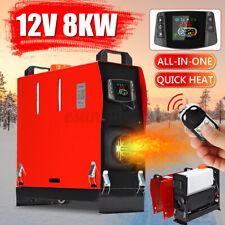 HCalory 8KW 12V Calefactor Calentador de Air Fuel diesel Remote Parking Heater