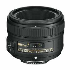 Nikon AF-S FX NIKKOR 50mm f/1.8G Lens with Auto Focus for Nikon DSLR Cameras