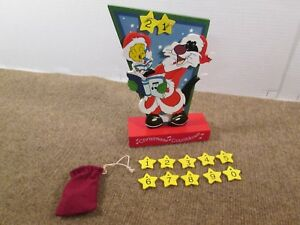 Looney Tunes Tweety and Sylvester Wooden Christmas Countdown Advent Calendar