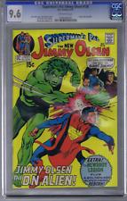 Superman's Pal Jimmy Olsen #136 DC Pub 1971 CGC 9.6 (NEAR MINT +) Kirby/Adams