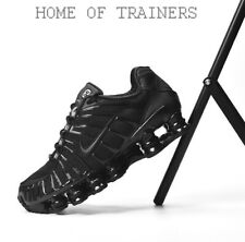 purchase cheap c60c5 c09ee Nike Shox TL Black Black Black Men s Trainers All Sizes Limited Stock