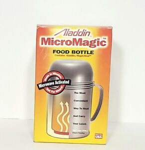 Aladdin MicroMagic Food Bottle Made in USA Use In Microwave Portable A