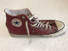 Vintage Converse All Star USA made vintage red leather chuck taylor 11