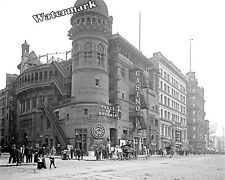 Historical Photograph New York Casino &The Belle of Bohemia Play 1900c 8x10