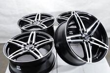 New Listing18 Wheels Fit Honda Civic Accord Nissan Maxima Altima Sentra Sienna Black Rims