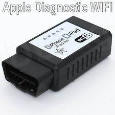 Mini WIFI iCar ELM327 OBDII OBD2 Diagnostic Scanner apple iOS Android iPad AIR